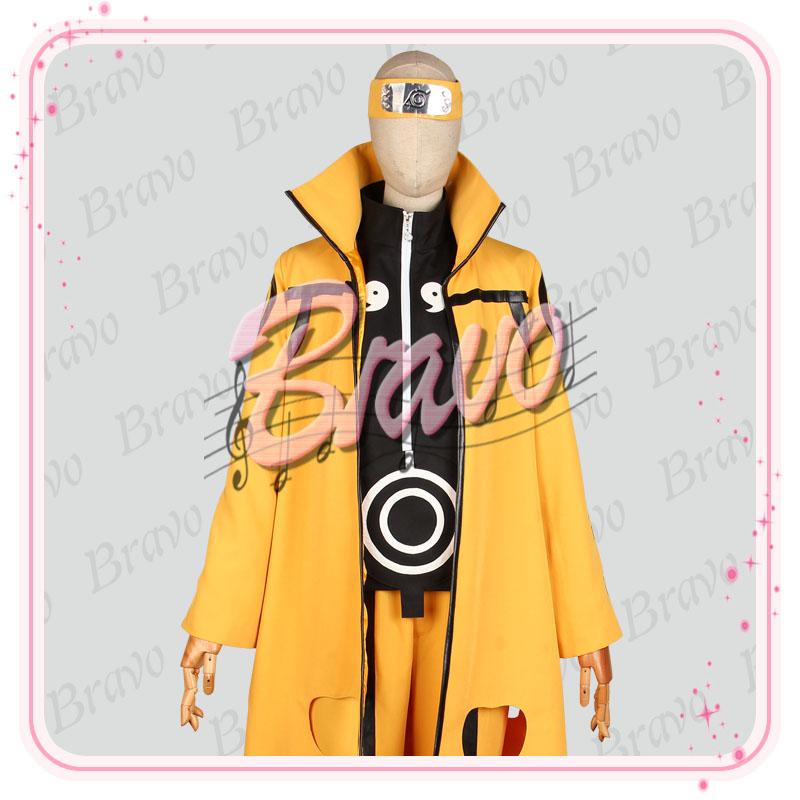 NARUTO 渦巻ナルト 六道仙人 九尾二代 コスプレ衣装   渦巻ナルト コスプレ衣装 製作販