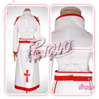 画像2: ソードアート・オンライン SAO アスナ 血盟騎士団 コスプレ衣装