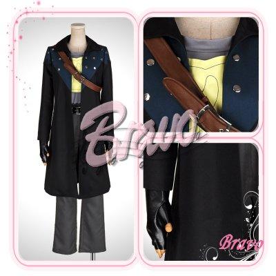 画像1: ソードアート・オンライン SAO  キリト 初期装備 コスプレ衣装