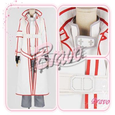 画像1: ソードアート・オンライン SAO キリト 血盟騎士団 コスプレ衣装
