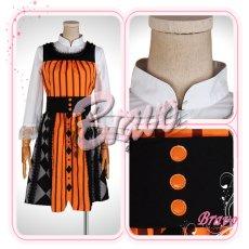 画像5: Sound Horizon 黒き女将の宿 田舎娘 コスプレ衣装 (5)