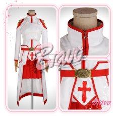 画像2: ソードアート・オンライン SAO アスナ 血盟騎士団 コスプレ衣装 (2)