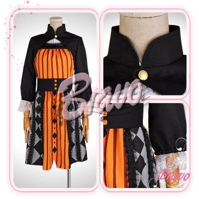 画像1: Sound Horizon 黒き女将の宿 田舎娘 コスプレ衣装