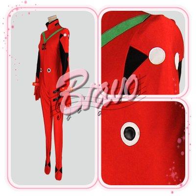 画像2: EVA ヱヴァンゲリヲン    アスカ プラグスーツ版 コスプレ衣装