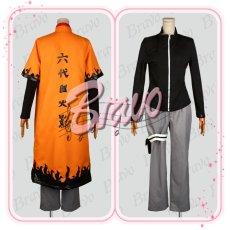 画像4: NARUTO -ナルト-疾風伝 仙人モード うずまきナルト コスプレ衣装 (4)