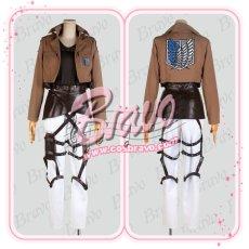 画像2: 進撃の巨人  ユミル  刺繍版 修正版 コスプレ衣装 (2)