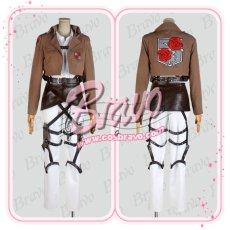 画像2: 進撃の巨人 駐屯兵団 ハンネス 刺繍版 団服 修正版  コスプレ衣装 (2)