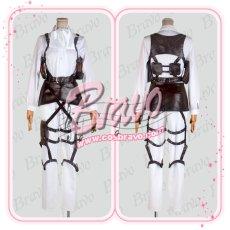 画像3: 進撃の巨人 リヴァイ兵長 刺繍版 修正版 コスプレ衣装 (3)