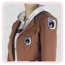 画像5: 進撃の巨人  アニ・レオンハート  刺繍版 修正版 コスプレ衣装 (5)