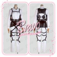 画像3: 進撃の巨人 駐屯兵団 ハンネス 刺繍版 団服 修正版  コスプレ衣装 (3)