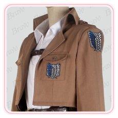 画像4: 進撃の巨人 調査兵団 アルミン・アルレルト 団服  コスプレ衣装 (4)