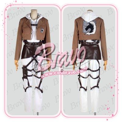 画像1: 進撃の巨人  アニ・レオンハート  刺繍版 修正版 コスプレ衣装