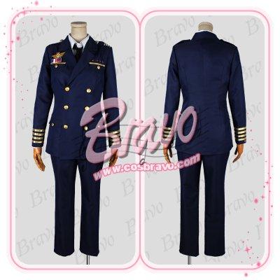 画像1: うたの☆プリンスさまっ♪ Shining Airlines 先輩パイロット 機長制服 コスプレ衣装