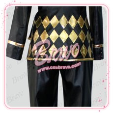 画像4: ジョジョの奇妙な冒険 第5部 ジョルノ・ジョバァーナ コスプレ衣装 (4)