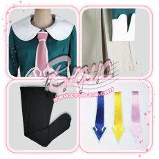 画像5: STAR DRIVER 輝きのタクト 南十字学園 女子制服 ネクタイ3色付き コスプレ衣装 (5)