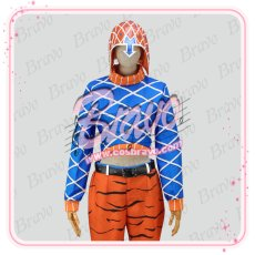 画像9: ジョジョの奇妙な冒険 グイード・ミスタ 第五部 コスプレ衣装 (9)
