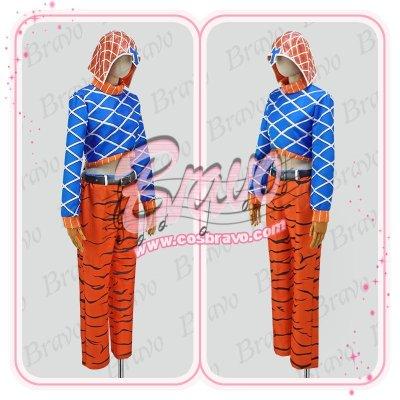 画像2: ジョジョの奇妙な冒険 グイード・ミスタ 第五部 コスプレ衣装