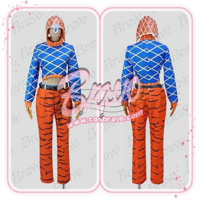 画像1: ジョジョの奇妙な冒険 グイード・ミスタ 第五部 コスプレ衣装