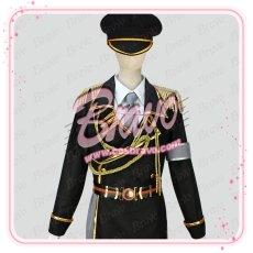 画像1: K  夜刀神狗朗 spoon軍服 コスプレ衣装 (1)