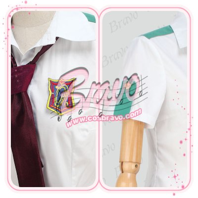画像1: スタミュ 高校星歌劇 夏制服 コスプレ衣装