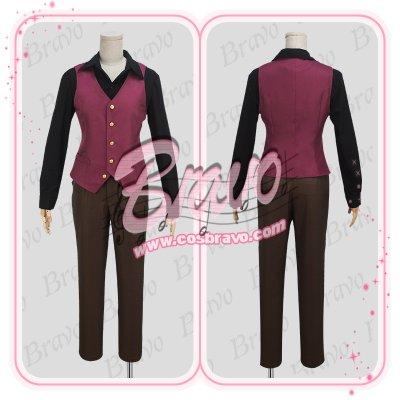 画像2: スタミュ 高校星歌劇 鳳樹 綾薙学園制服 コスプレ衣装
