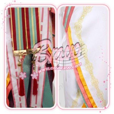 画像1: 夢王国と眠れる100人の王子様 夢100 SP桜花 太陽覚醒 コスプレ衣装