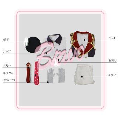 画像3: IDOLiSH7 アイドリッシュセブン RESTART POiNTER 七瀬陸 コスプレ衣装