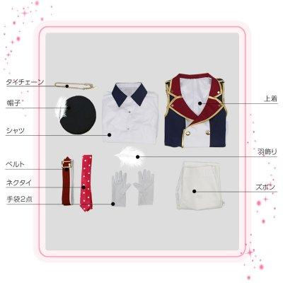 画像2: IDOLiSH7 アイドリッシュセブン RESTART POiNTER 七瀬陸 コスプレ衣装