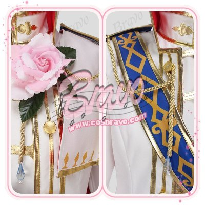 画像1: 夢王国と眠れる100人の王子様 夢100 騎士の国・アルストリアの王子 SPアヴィ 覚醒前 コスプレ衣装