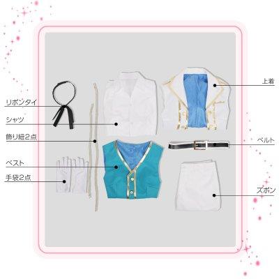 画像2: IDOLiSH7 アイドリッシュセブン MEMORiES MELODiES 四葉環 コスプレ衣装