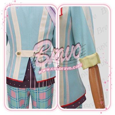 画像1: バンドやろうぜ! Fairy4pril 鳳葵陽(オオトリ アサヒ) コスプレ衣装