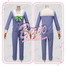 画像3: A3!(エースリー) 夏組 瑠璃川幸 聖フローラ中学校制服 コスプレ衣装 (3)