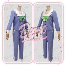 画像2: A3!(エースリー) 夏組 瑠璃川幸 聖フローラ中学校制服 コスプレ衣装 (2)