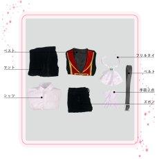 画像12: 僕のヒーローアカデミア ハロウィン キャラグッズのイラスト 轟焦凍 コスプレ衣装 (12)