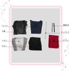 画像9: ツキプロ TSUKIPRO THE ANIMATION SolidS 篁志季 コスプレ衣装 (9)