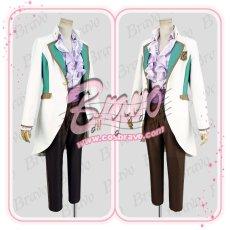 画像3: スタミュ 高校星歌劇 楪=クリスチアン=リオン 綾薙学園制服 コスプレ衣装 (3)