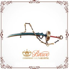 画像4: SINoALICE -シノアリス- アリス 束縛の剣 刀 コスプレ道具  (4)
