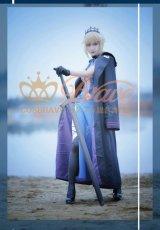 画像4: Fate/Grand Order FGO アルトリア・ペンドラゴン オルタ 霊基再臨 3段階 水着 黒王 コスプレ衣装 (4)