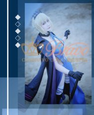 画像5: Fate/Grand Order FGO アルトリア・ペンドラゴン オルタ 霊基再臨 3段階 水着 黒王 コスプレ衣装 (5)