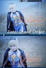 画像3: Fate/Grand Order FGO アルトリア・ペンドラゴン オルタ 霊基再臨 3段階 水着 黒王 コスプレ衣装 (3)