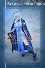 画像8: Fate/Grand Order FGO アルトリア・ペンドラゴン オルタ 霊基再臨 3段階 水着 黒王 コスプレ衣装 (8)