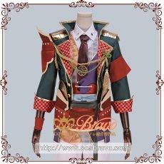 画像1: 戦刻ナイトブラッド 真田軍 真田幸村 腰鎧と肩鎧 コスプレ道具 (1)