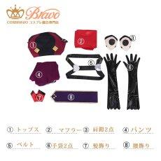 画像6: Fate/Grand Order FGO 加藤段蔵 コスプレ衣装 霊基再臨 第一段階 アサシン (6)