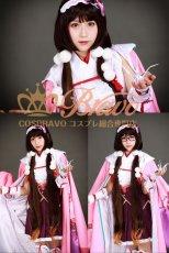 画像4: Fate/Grand Order FGO 霊基再臨 第一段階 アサシン 刑部姫 コスプレ衣装 (4)