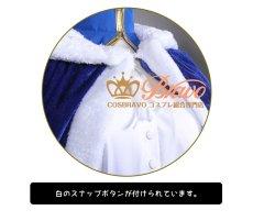画像10: Fate/Grand Order FGO アルトリア・ペンドラゴン セイバー コスプレ衣装 マント付き (10)