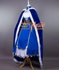画像3: Fate/Grand Order FGO アルトリア・ペンドラゴン セイバー コスプレ衣装 マント付き (3)