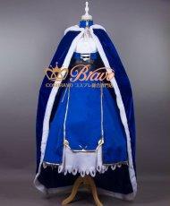 画像2: Fate/Grand Order FGO アルトリア・ペンドラゴン セイバー コスプレ衣装 マント付き (2)