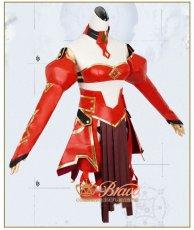 画像2: Fate/Apocrypha 赤のセイバー 霊基再臨 最終再臨 モードレッド コスプレ衣装 (2)