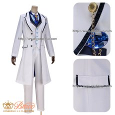 画像10: Fate/Grand Order FGO 白亜の薔薇 ホワイトローズ アーサー・ペンドラゴン コスプレ衣装 (10)