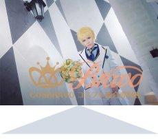 画像3: Fate/Grand Order FGO 白亜の薔薇 ホワイトローズ アーサー・ペンドラゴン コスプレ衣装 (3)